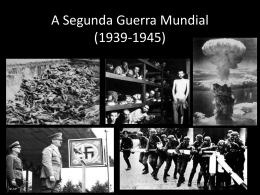 segunda guerra mundial em power point