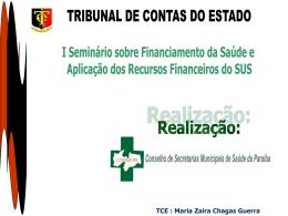APRESENTAÇÃO Dra. ZAIRA