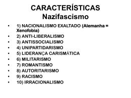 3º Anos - Nazifacismo e Espanha