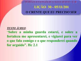 05/11/201 O CRENTE QUE EU PRECISO SER