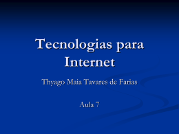 PHP - Profº Thyago Maia