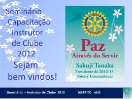 2012-Instrutor de Cl..