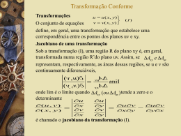 3.1 Transformação Conforme