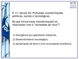 Aula_sociedade_de_risco - Acadêmico de Direito da FGV