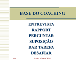 BASES DO COACHING