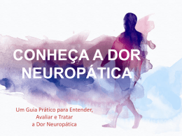 Avaliação e diagnóstico - Know Pain Educational Program