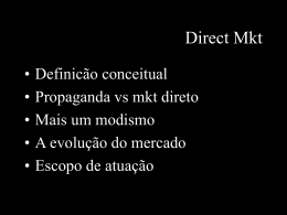 Direct Mkt - TFS Comunicação & Marketing