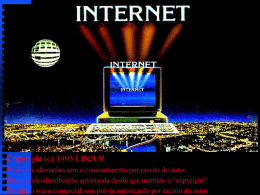 internet - eGov UFSC - Universidade Federal de Santa Catarina