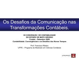 """""""alguns obstáculos a comparabilidade e a convergência de"""