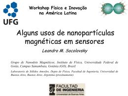 Alguns usos de nanopartículas magnéticas em sensores