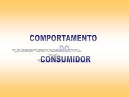 2. modelos sobre o comportamento do consumidor