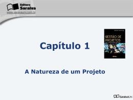 Capítulo 1 A Natureza de um Projeto