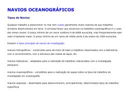 Veículos oceanográficos