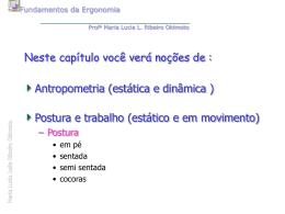 antropometria_Posturas de trabalho