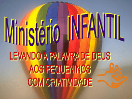 Apres Ministério INFANTIL