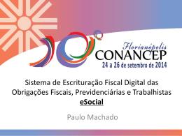 Paulo Machado – Consultor Sócio da JCMB