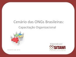 Ongs COM atividade comercial