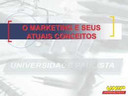 o marketing social