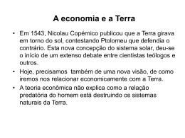 A economia e a Terra