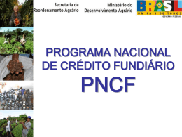 histórico do pncf