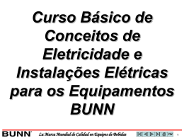 Básicos de Eletricidade - BUNN Online Learning Center
