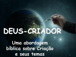 deus-criador (sobre criacionismo, fé & ciência e afins)