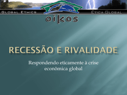 Seminário - Ordem Econômica Global ( Slide 01 )