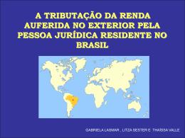 TRIBUTACAO - Acadêmico de Direito da FGV