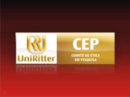 Apresentação do CEP/UniRitter