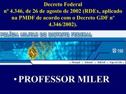rdepmdf - Passe já Concursos