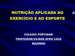 carboidratos e exercício