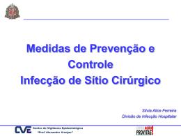 Medidas de Prevenção e Controle de Infecção de Sítio Cirúrgico