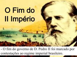 O Fim do II Império