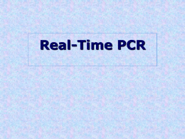 Real-Time PCR [M.Tevfik DORAK]
