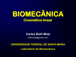 Cinemática linear