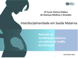 Redução da morbilidade materna