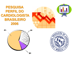 PESQUISA SBC - Sociedade Brasileira de Cardiologia
