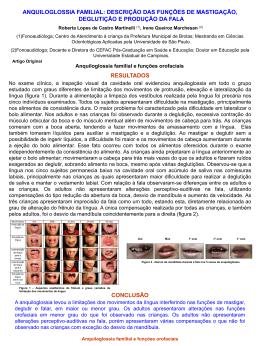 Anquiloglossia familial e funções orofaciais