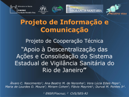 Projeto de Informação e Comunicação