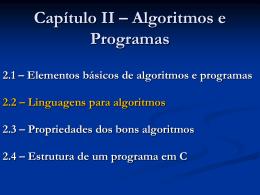 CES-10 Teoria Cap 2-b - Divisão de Ciência da Computação