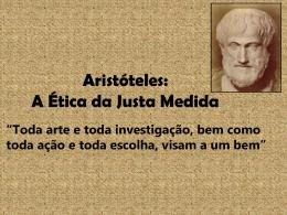 Aristóteles de Estagira: A Ética