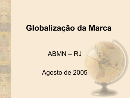 Fernando Mazzarolo - Gerente Geral da Mead Johnson - PPT