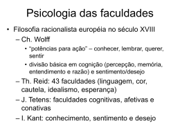 Kant e a Psicologia