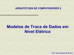 Modelos de Troca de Dados