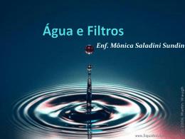 Água e Filtros