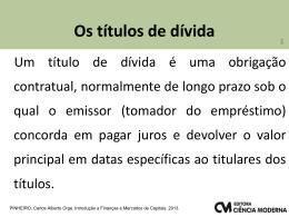 Capitulo 8 - Carlos Pinheiro - Quando o assunto é finanças