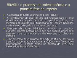 TÓPICO 2 AMÉRICA LATINA: independência política e