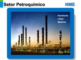 Indústria Petroquímica - Caracterização