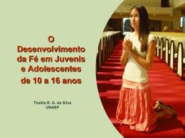10. Palestra de 10 a 16 anos