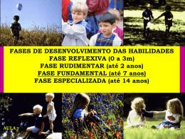 FASE FUNDAMENTAL (até 7 anos)